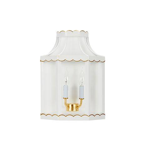 Cece Scalloped Sconce
