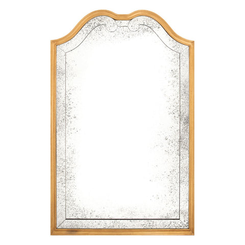 Etienne Mirror in Brass