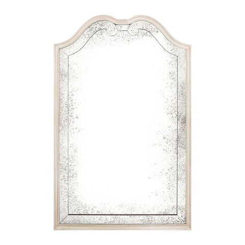 Etienne Mirror in Silver