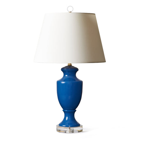 Empire Lamp in Admiral Blue