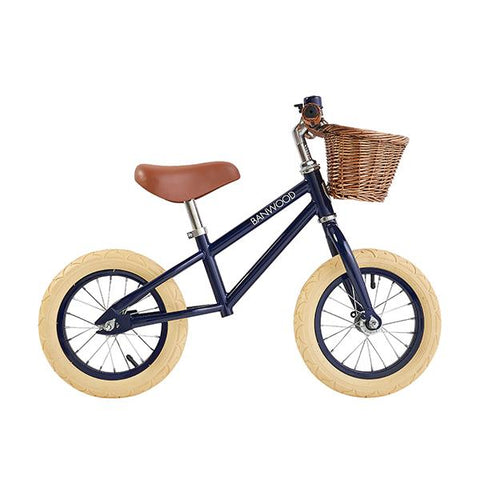 First Go Navy Bicycle