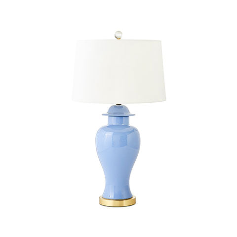 Clara Lamp in French Blue
