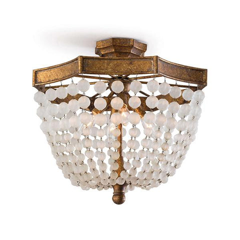 Babette Beaded Semi Flush Mount