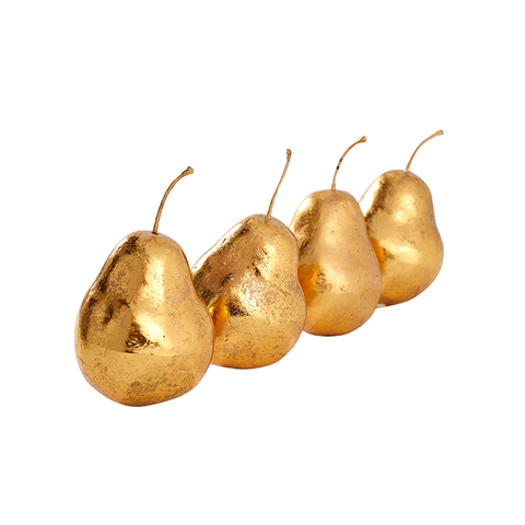 Gilded Pear Set