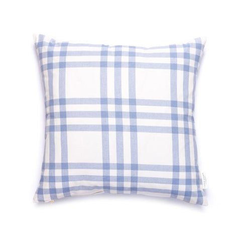 Grande Plaid Pillow in Eventide