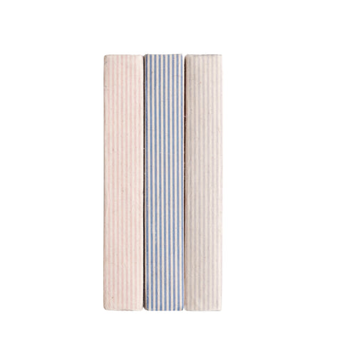 French Stripe Decorative Books