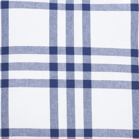 Grande Plaid in Navy Fabric Swatch