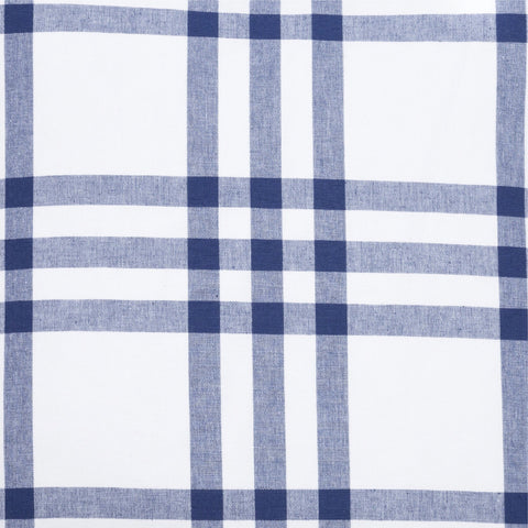 Grande Plaid Fabric in Navy