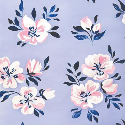 Harper Floral Wallpaper Swatch