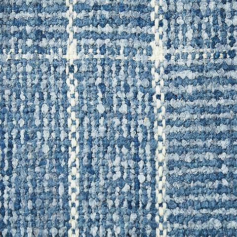 Indigo Tweed Fabric Swatch
