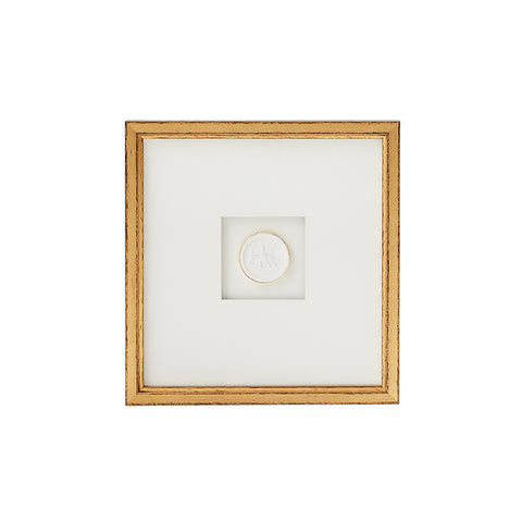 New! Framed Intaglio I