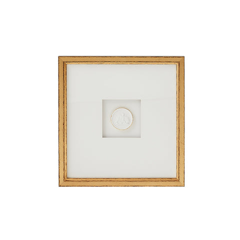 New! Framed Intaglio IV