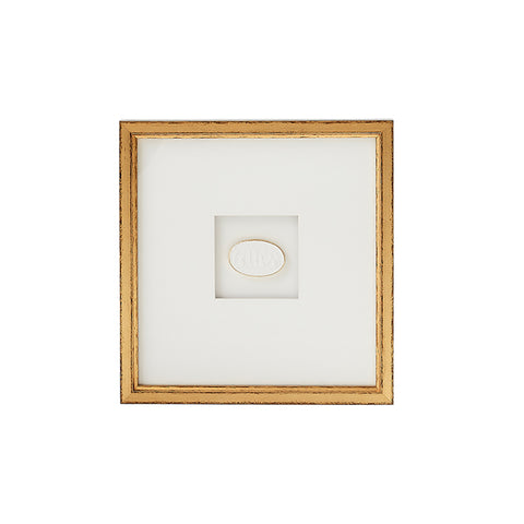 New! Framed Intaglio V