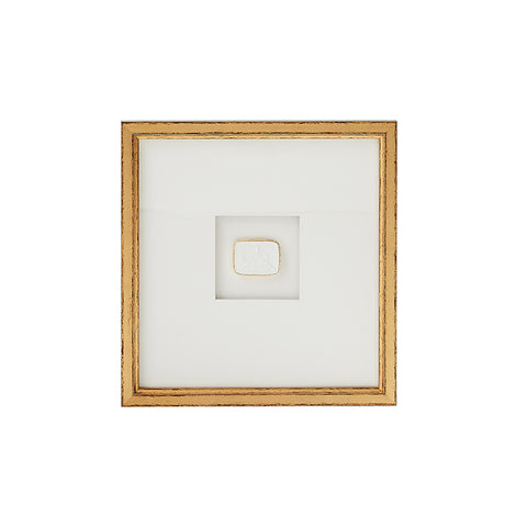 New! Framed Intaglio VII