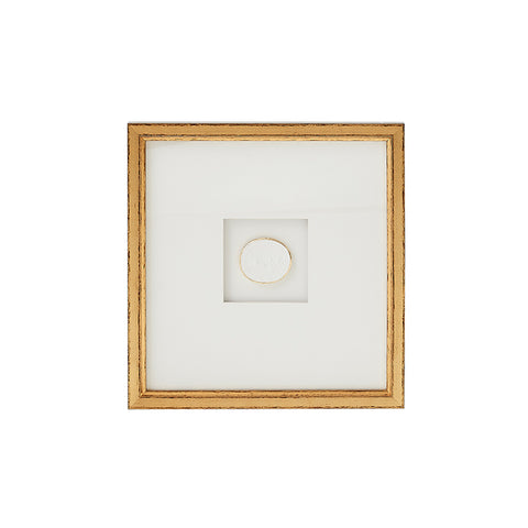 New! Framed Intaglio VIII
