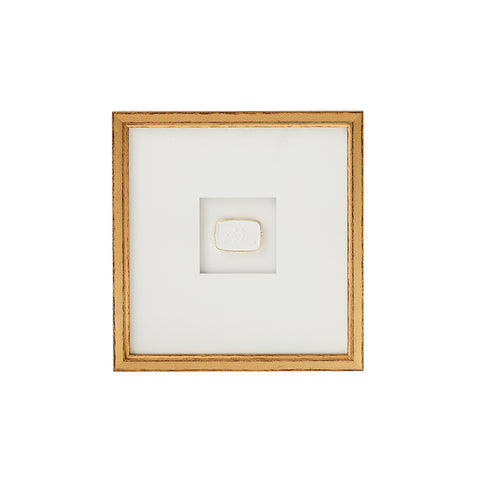 New! Framed Intaglio IX