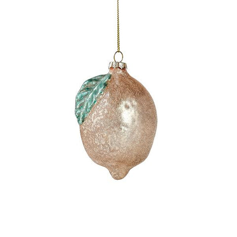 Sparkling Citrus Ornament