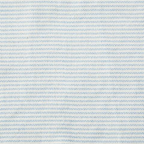 Light Blue Ticking Stripe Fabric Swatch