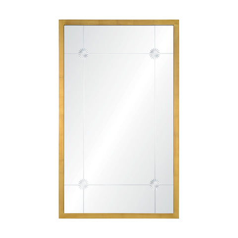Lille Mirror in Brass