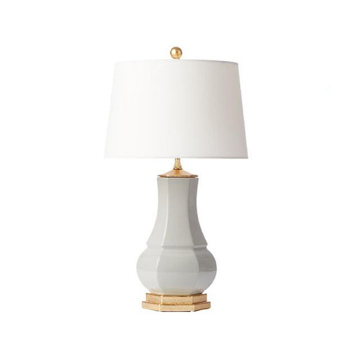 Lucille Lamp in Dove