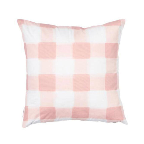 Blush Burnside Buffalo Check Pillow