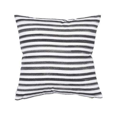 Black Hawthorne Stripe Pillow