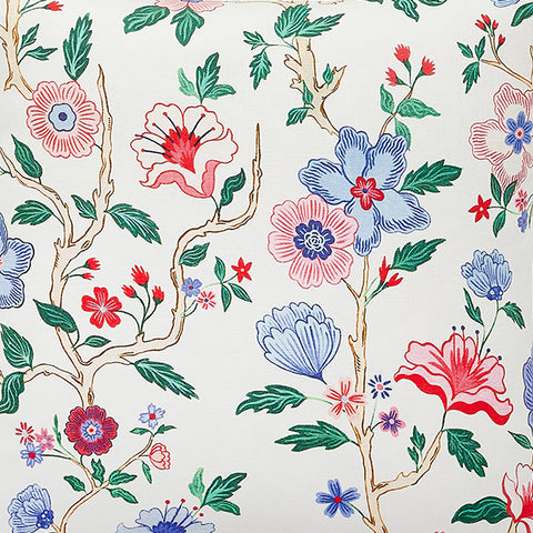 New! Mandarin Lily Fabric