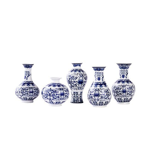 Mini Blue & White Porcelain Set