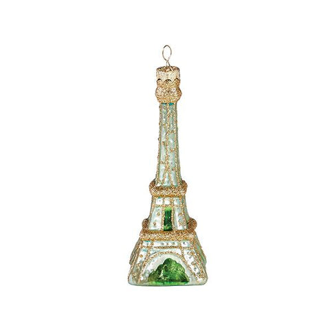 Mint Eiffel Tower Ornament