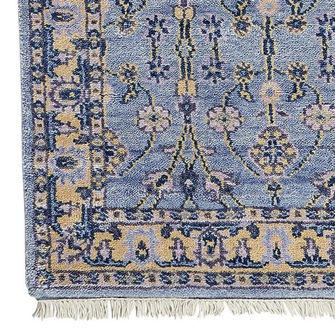 Minuet in Blue Lilac Rug Sample