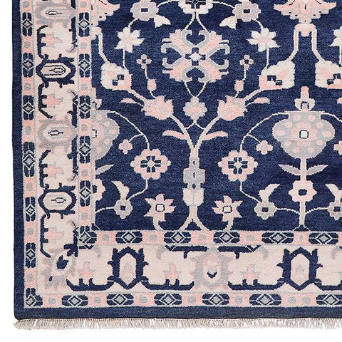 Minuet in Navy Rug Sample