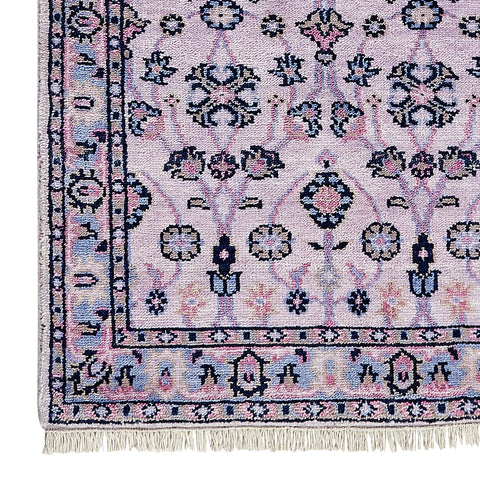 Minuet in Violet Rug Sample