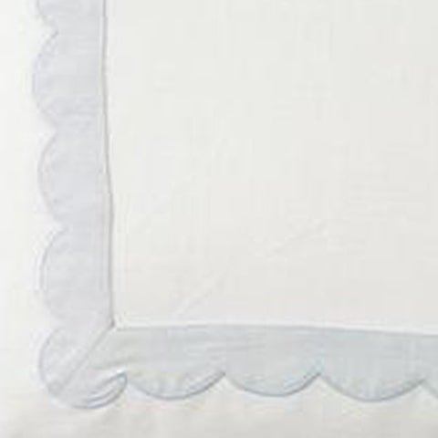 Scallop Trim in Mist Fabric Swatch
