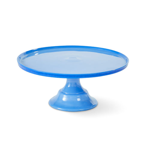 Medium Milk Glass Cake Stand