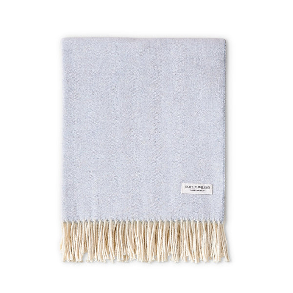 cashmere & lambswool throw blanket