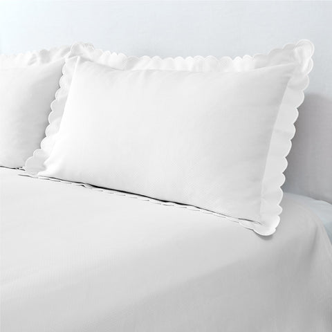 Diamond Pique Bed Skirt