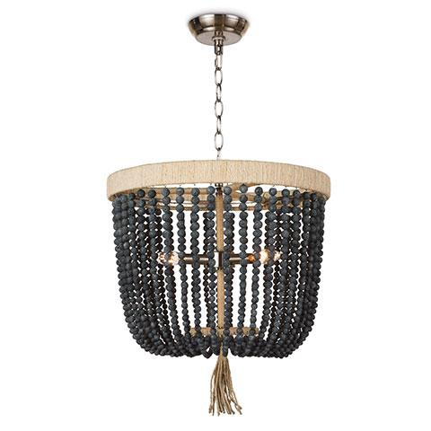 Neve Chandelier in Navy