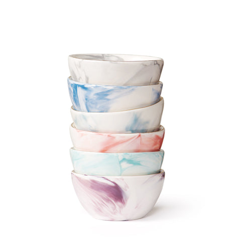 Marbled Petite Bowls