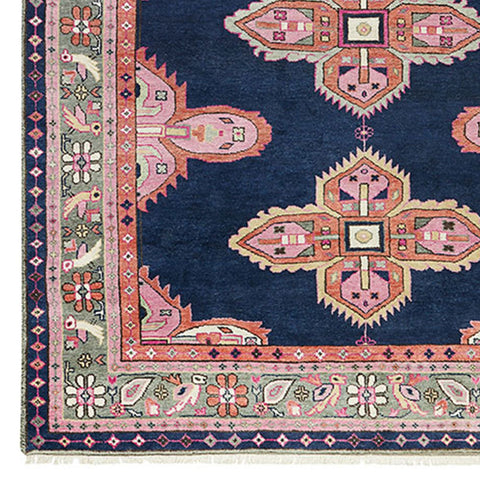 Kismet Rug in Navy