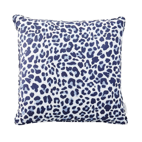 Navy Leo Pillow