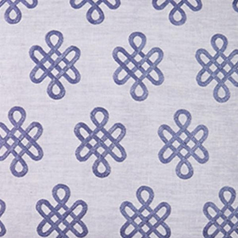 Nonogram in Lilac Fabric Swatch