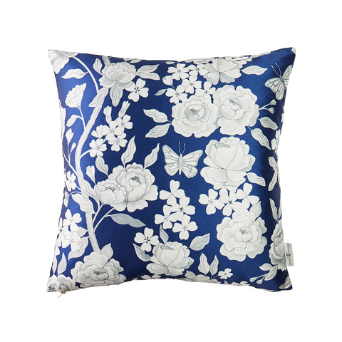 Papillon Pillow in Navy