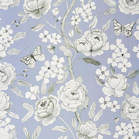 Papillon in Lilac Wallpaper Sample