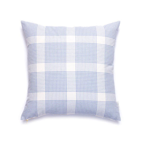 Petite Plaid Pillow in Eventide