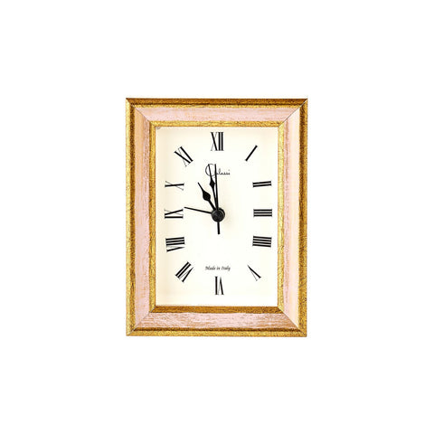 Blush & Gold Alarm Clock