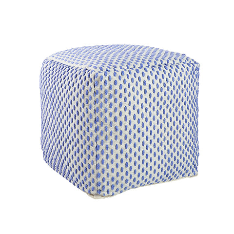 Sweet Spot Pouf in Blue