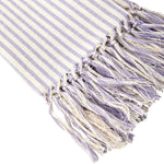 Purple Stripe Tea Towel