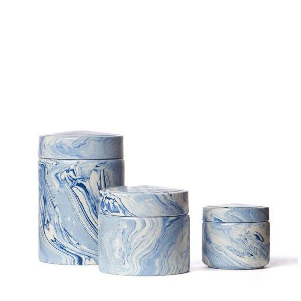 set of 3 covered jars