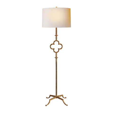 CAIT KIDS: Quatrefoil Floor Lamp