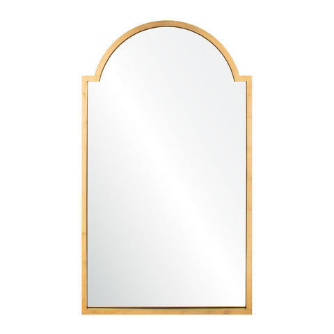 Rialto Mirror in Brass
